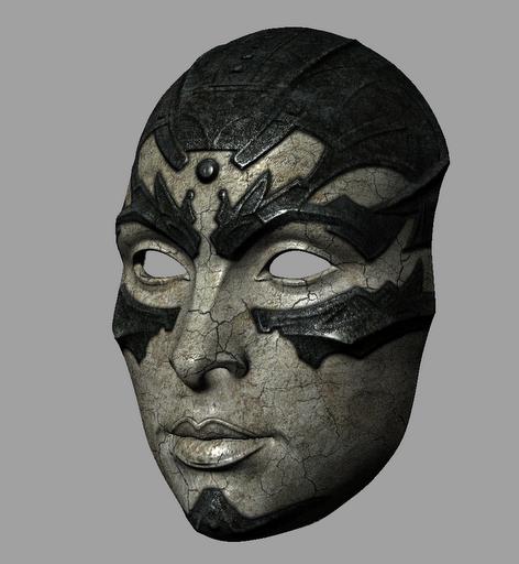 Вот так могла выглядеть маска, если бы не реалтайм