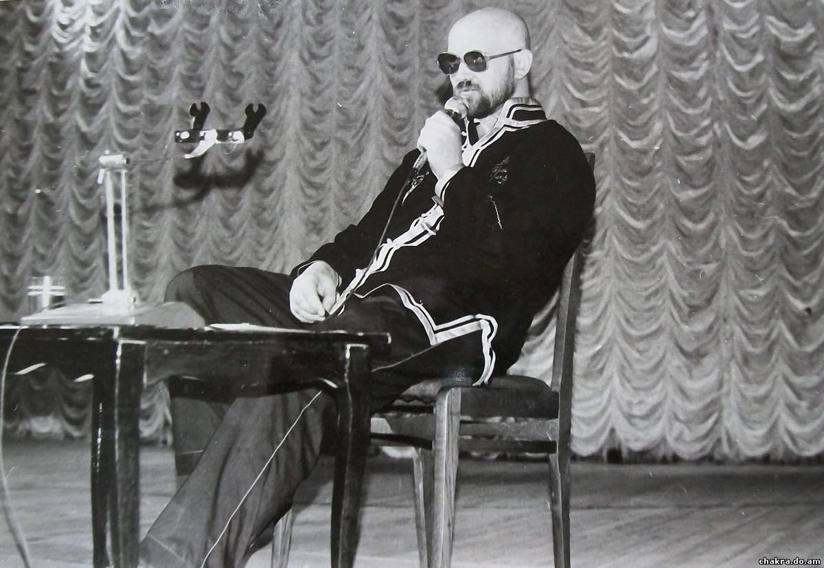 "Валекс в зале ""Дворца профсоюзов"" в 1990 году"